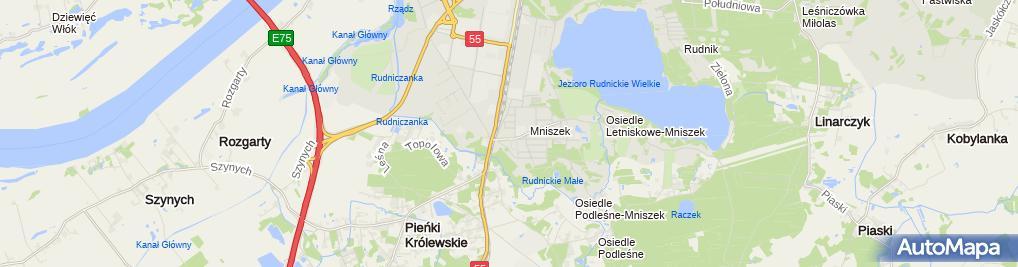 Zdjęcie satelitarne św. Józefa Oblubieńca NMP