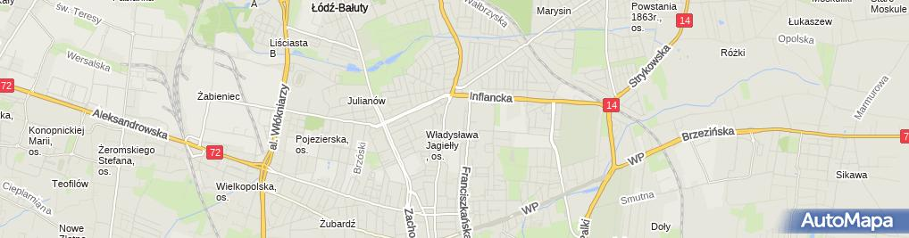 Zdjęcie satelitarne Św. Michała Archanioła