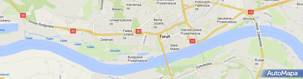 Zdjęcie satelitarne Sąd Rejonowy - V Wydział Gospodarczy
