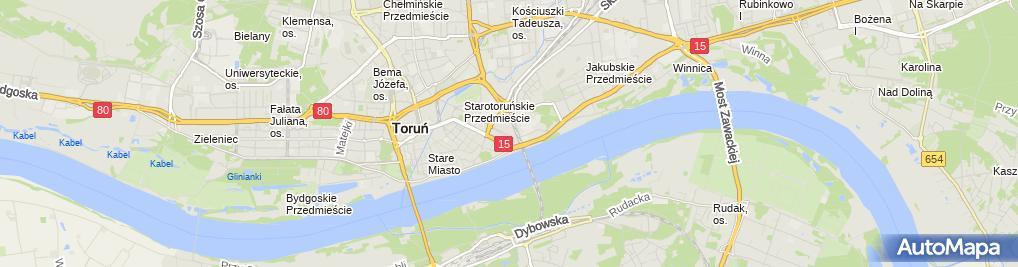 Zdjęcie satelitarne Pitstop Andrzej Sobierajski