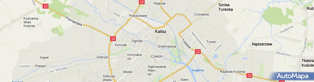 Zdjęcie satelitarne Santander Bank Polska - Oddział