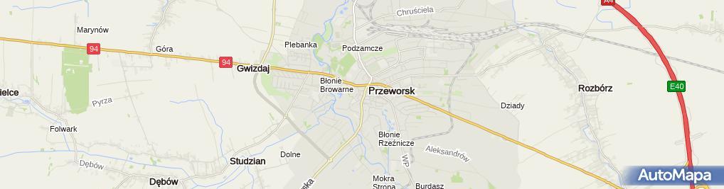Zdjęcie satelitarne BS Jaroslaw