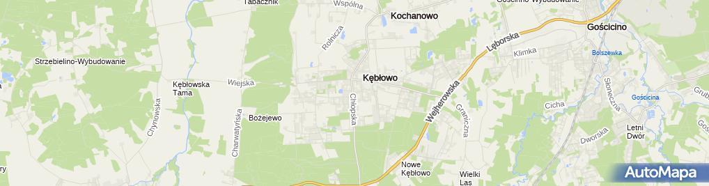 Zdjęcie satelitarne BS Krokowa