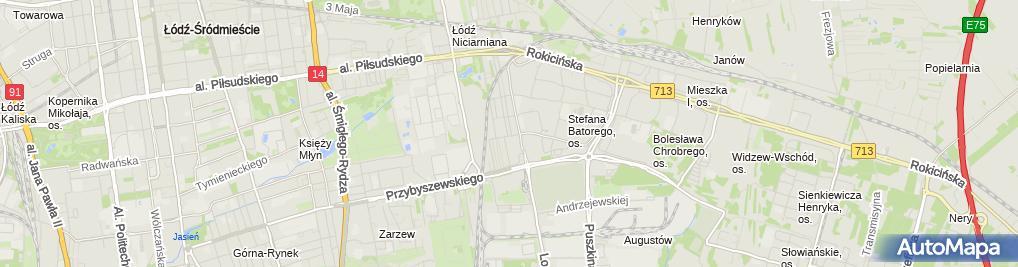 Zdjęcie satelitarne Chrome Barbara Janaszewska