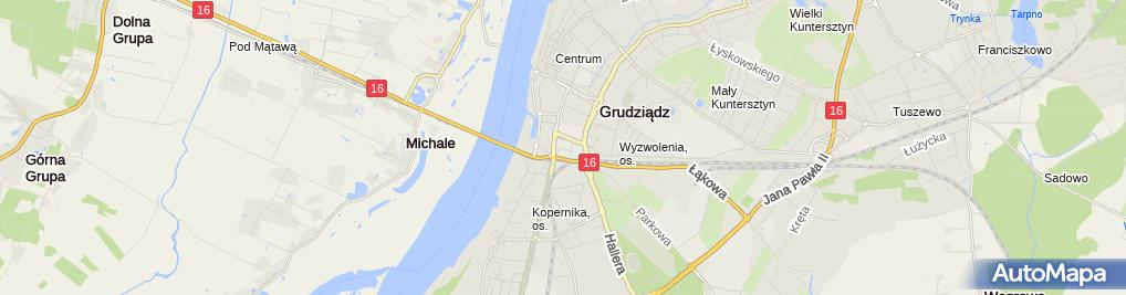 Zdjęcie satelitarne Hurtownia zabawek KAJA Andrzej Janeczko