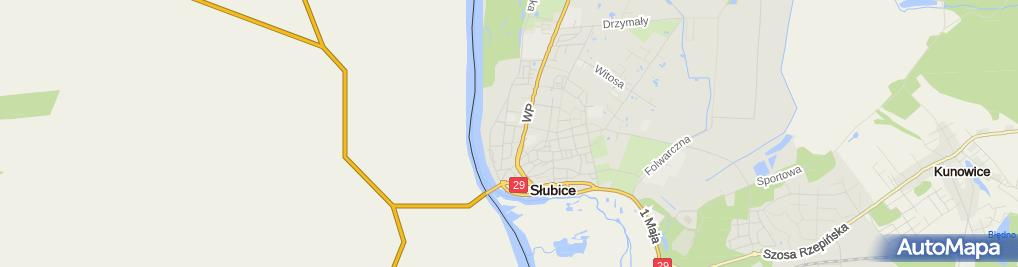 Zdjęcie satelitarne Sexshop-Garsoniera
