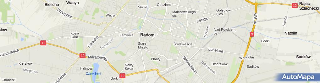 Zdjęcie satelitarne SKOK 24 - Bankomat