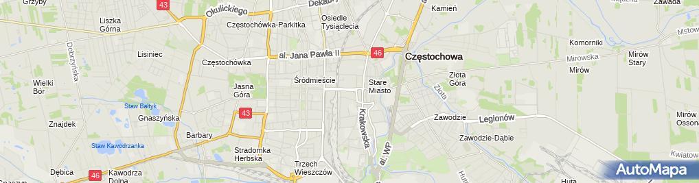 Zdjęcie satelitarne Stefczyka