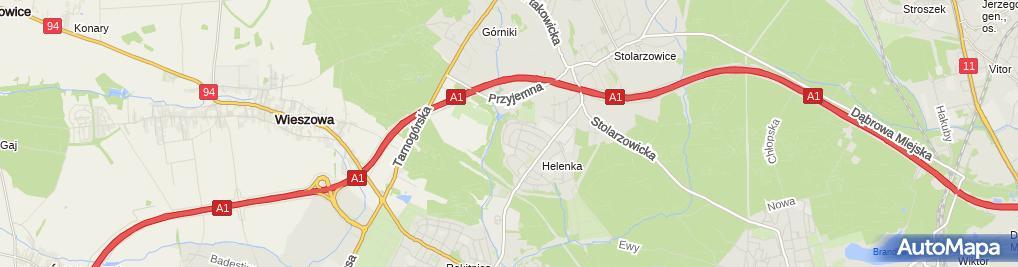 Zdjęcie satelitarne Krzysztof Czepukajtys Usługi Ślusarsko-Spawalnicze