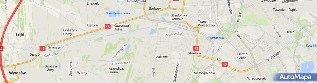 Zdjęcie satelitarne Krzysztof Sitarz Ślusarstwo Produkcyjno-Usługowe.Produkcja Sprężyn