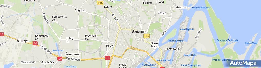 Zdjęcie satelitarne Pogotowie ślusarskie