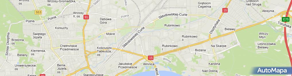 Zdjęcie satelitarne Usługi ślusarsko-tokarskie Winter