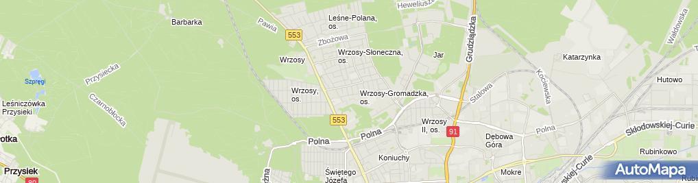 Zdjęcie satelitarne AirGun.pl - Wiatrówki i militaria