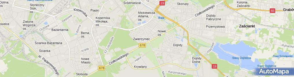 Zdjęcie satelitarne Ballistic.pl - Sklep Militarny, ASG, Survival.