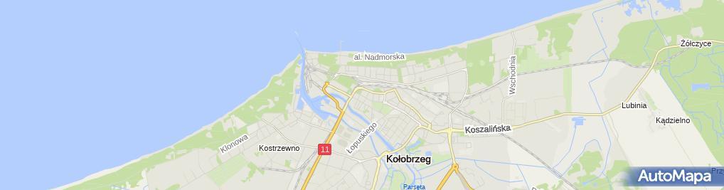 Zdjęcie satelitarne Jerzy Pletty Sklep Przemysłowy-Wielobranżowy Sport