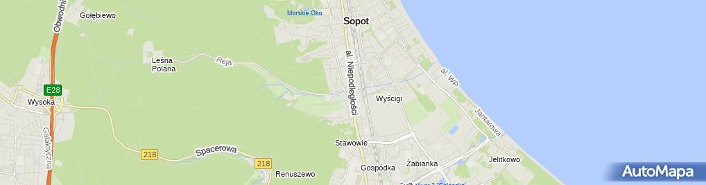Zdjęcie satelitarne Sklep Całodobowy Gosia