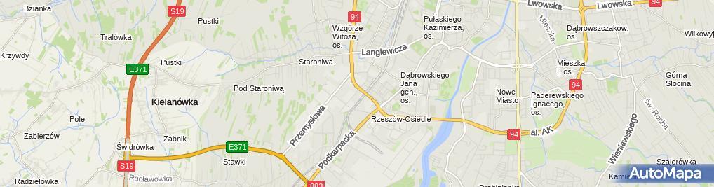 Zdjęcie satelitarne Sklep El Mar Jankowska Koszela Elżbieta