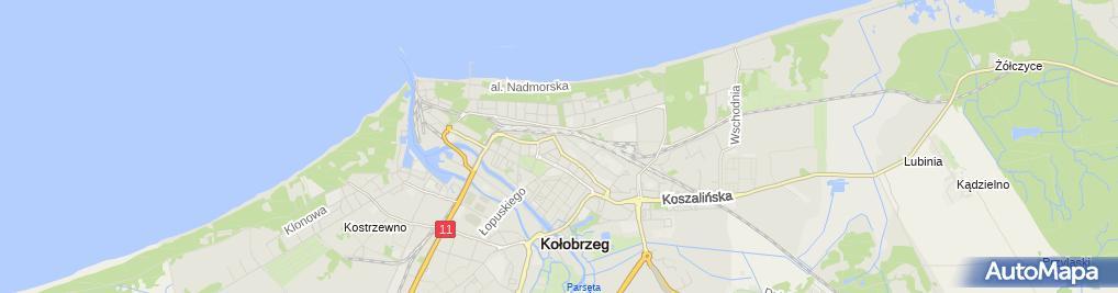 Zdjęcie satelitarne Sklep Smakosz Doradztwo w Zakr Nurkowania Swobod Waldemar Andrzejewski