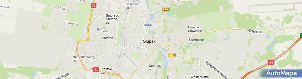 Zdjęcie satelitarne Sklep Spożywczo Piekarniczy