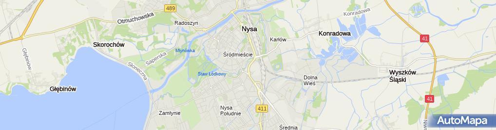 Zdjęcie satelitarne Sklep Spożywczo-Przemysłowy Grosik Suszalska Jolanta