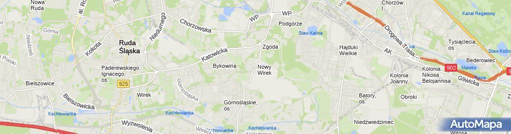 Zdjęcie satelitarne Sklep Wielobranźowy