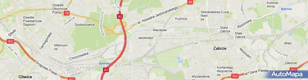 Zdjęcie satelitarne Dąbrowscy, SZ/007