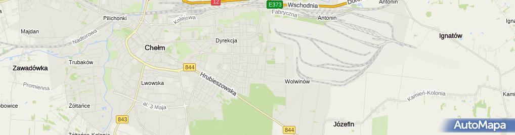 Zdjęcie satelitarne Diagnostyka - Malec Jarosław
