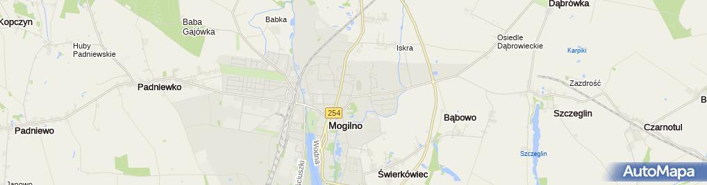Zdjęcie satelitarne Firma Handlowo-Usługowa Nicole Sylwia Papierz