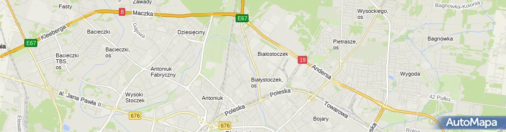 Zdjęcie satelitarne STOP Cafe - Kawiarnia