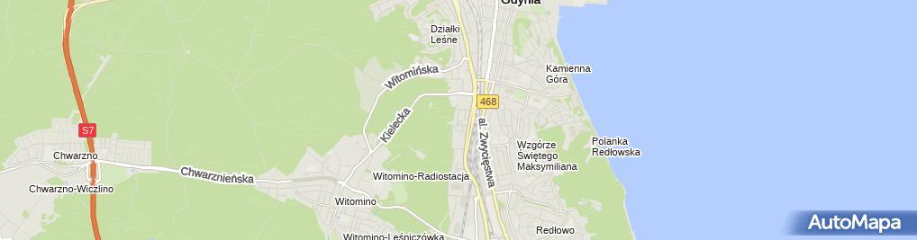 Zdjęcie satelitarne Stradivarius - Sklep odzieżowy