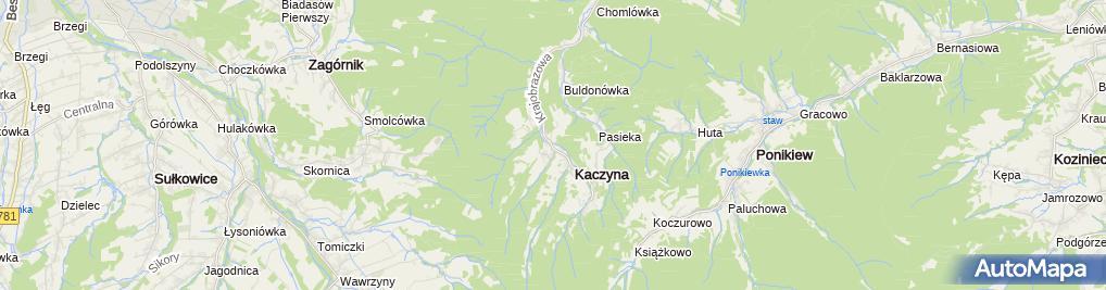 Zdjęcie satelitarne Ochotnicza Straż Pożarna Kaczyna
