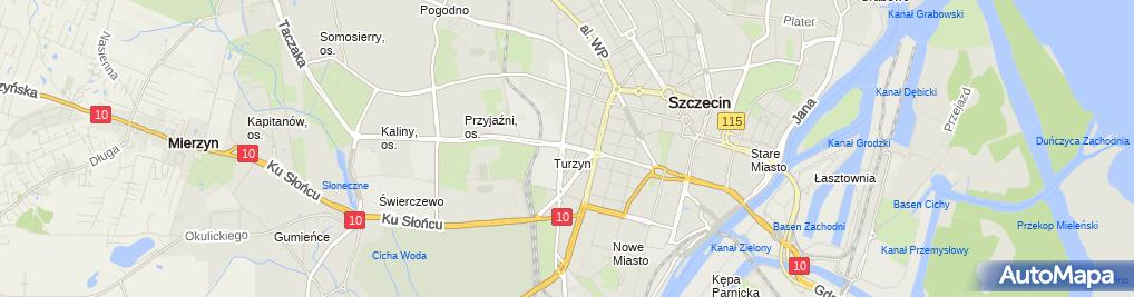Zdjęcie satelitarne STS - Zakład bukmacherski