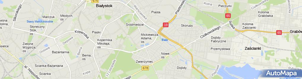 Zdjęcie satelitarne Super Pharm - Apteka, Drogeria