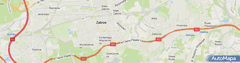 Zdjęcie satelitarne nr 2 w ZS Zawodowych