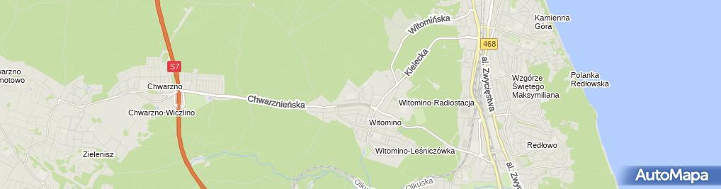 Zdjęcie satelitarne Prywatna Zasadnicza Szkoła Zawodowa E.t.mazurek