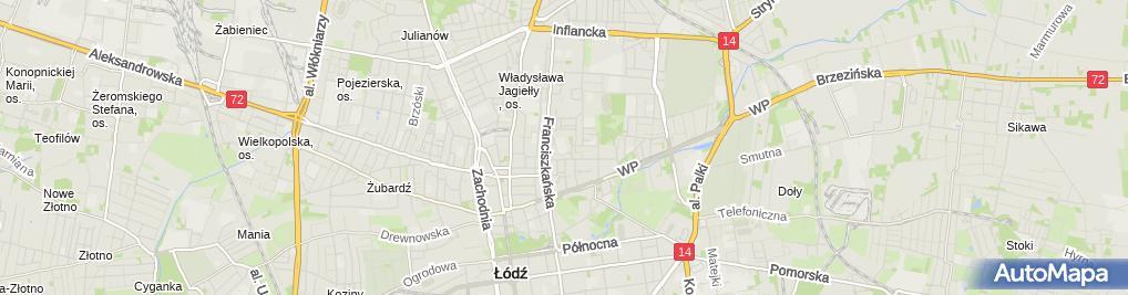 Zdjęcie satelitarne ZSZ