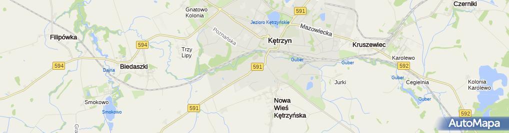 Zdjęcie satelitarne Lilla i Marcin Lizak Szkoła Języków Obcych