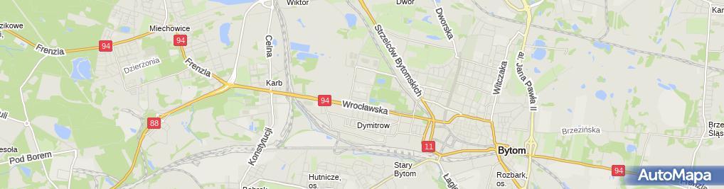 Zdjęcie satelitarne Ośrodek Szkoleniowo Usługowy Priorytet Włodzimierz Tulko