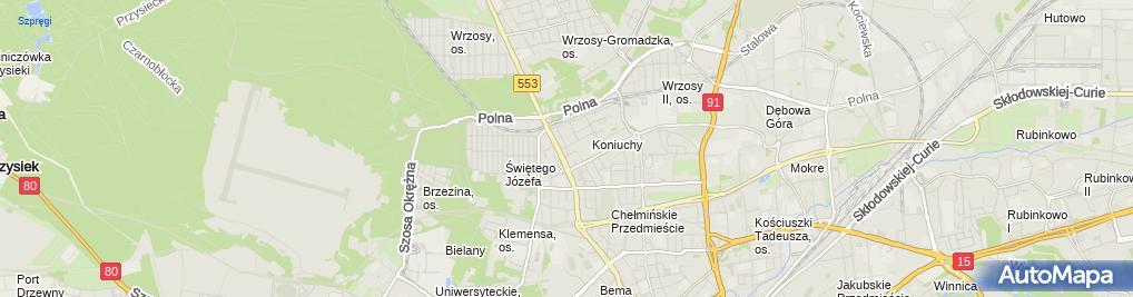 Zdjęcie satelitarne Akademia Pro Europa