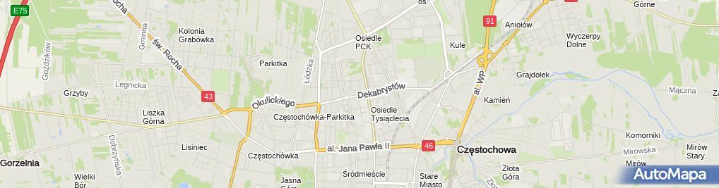 Zdjęcie satelitarne Centrum Szkoleniowo-Konsultingowe 'Omega'