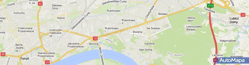 Zdjęcie satelitarne Ośrodek Edukacji I Terapii Belfer