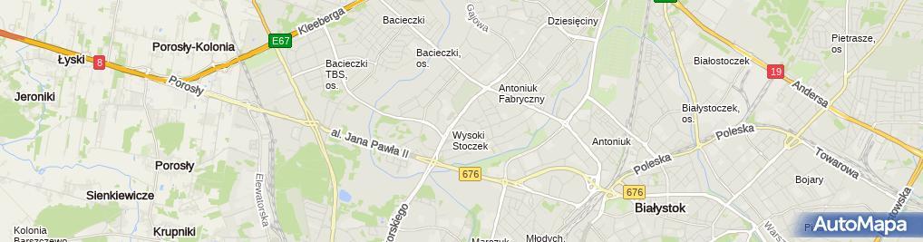 Zdjęcie satelitarne Regionalne Centrum Szkoleń I Edukacji Przy Polskim Stowarzyszeniu Doradczym I Konsultingowym