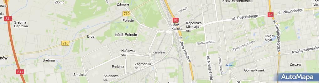 Zdjęcie satelitarne Społeczna Szkoła Muzyczna I St. Im. Władysława Szpilmana