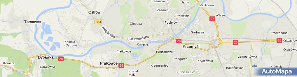 Zdjęcie satelitarne SP nr 16 im. Orląt Lwowskich