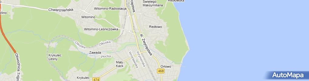 Zdjęcie satelitarne SP nr 38 i Gimnazjum nr 26 w ZS Specjalnych nr 17 przy Szpitala