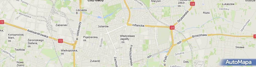 Zdjęcie satelitarne Szkoła Podstawowa Nr 30 Im. Rotmistrza Witolda Pileckiego