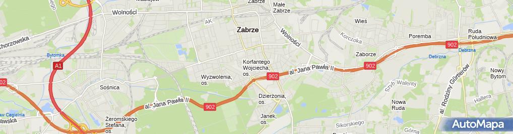 Zdjęcie satelitarne Szkoła Podstawowa Nr 6 Im.marii Curie-Skłodowskiej