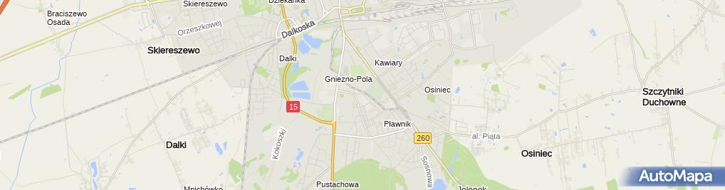 Zdjęcie satelitarne Szkoła Podstawowa Nr 8 Im. Mikołaja Kopernika