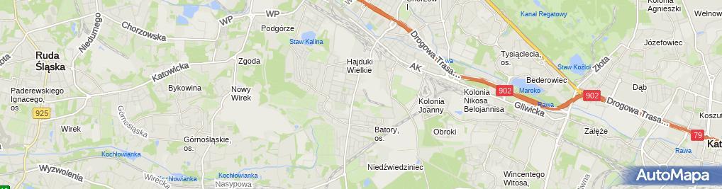 Zdjęcie satelitarne ENGLISH CENTER SZKOŁA JĘZYKÓW OBCYCH