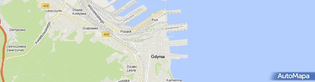 Zdjęcie satelitarne Laguna Medical - Pomorskie Centrum Zdrowia